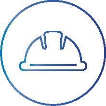 Job site safety icon
