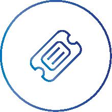 ticket management icon